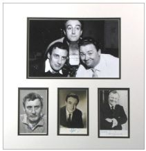 The Goons Autograph Signed Photo Display - Sellers, Milligan, Secombe